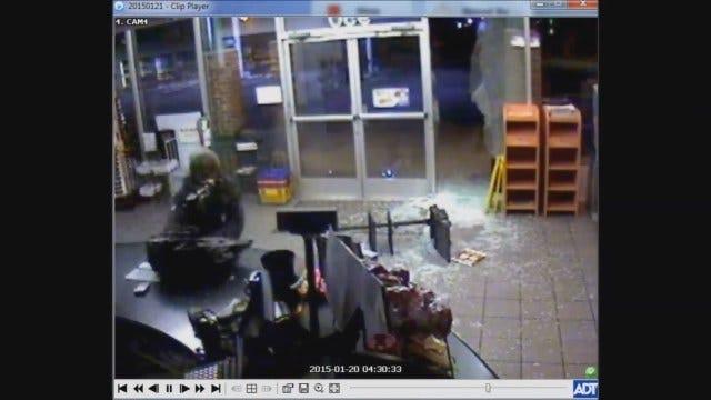 WEB EXTRA: NE OKC Convenience Store Burglary