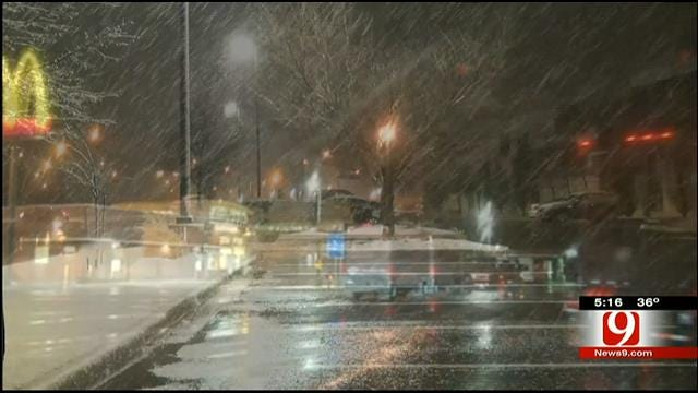 Storm Tracker Tom Pastrano Tracks Snow In Norman