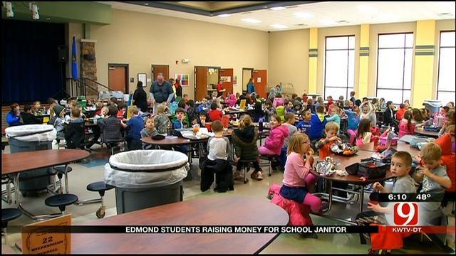 Edmond Students Raising Money For School Janitor
