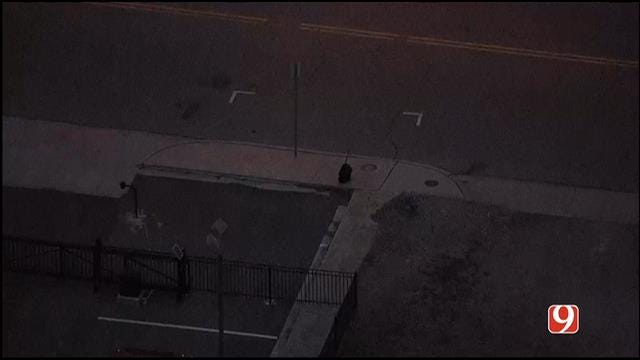 WEB EXTRA: SkyNews 9 Flies Over Suspicious Package Discovered In Midtown OKC