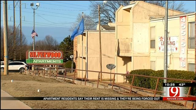 Midwest City Apartment Tenants Say They're Being Forced Out