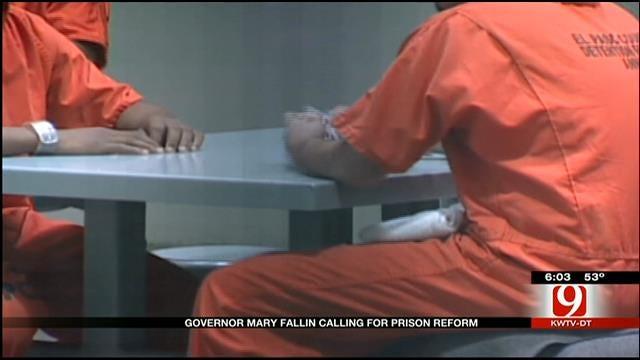 Governor Mary Fallin Calls For Prison Reform
