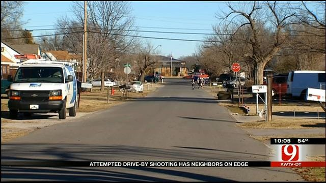 Norman Police Investigate Drive-By Shooting