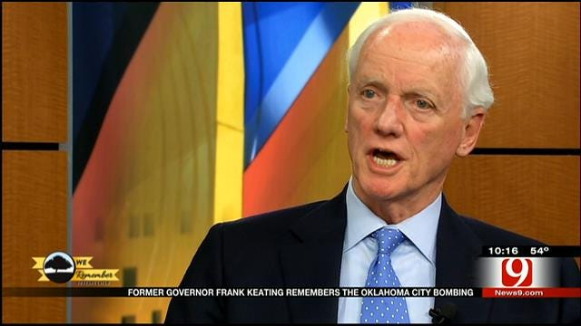 Governor Frank Keating Remembers OKC Bombing 20 Years Later