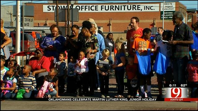 Oklahoma City Honors Martin Luther King, Jr. At Annual Parade