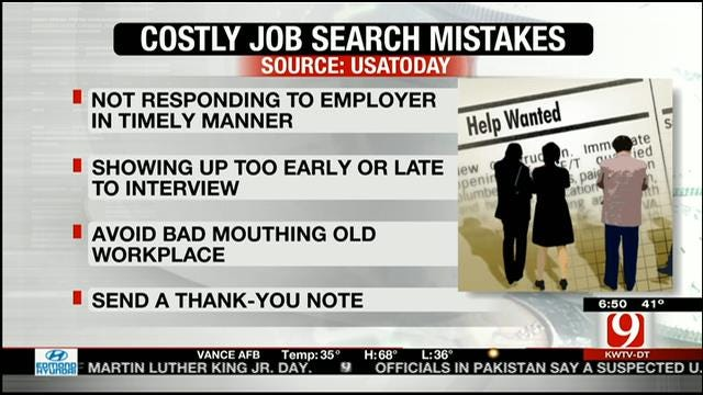 Mistakes To Avoid When You Interview For A Job