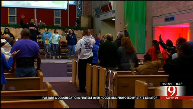 Oklahoma Pastors Protest Proposed 'Hoodie' Ban