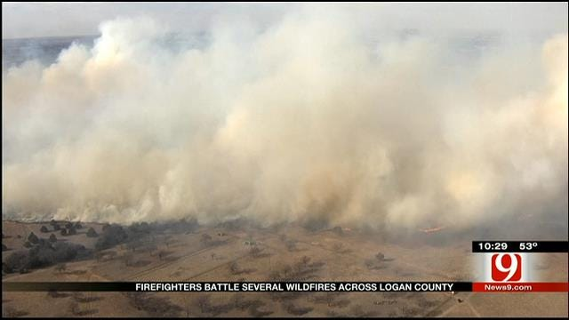 Landowners Speak Out After Wildfires Scorch Logan County