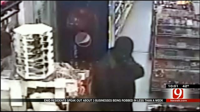 Enid Residents On Edge After String Of Armed Robberies