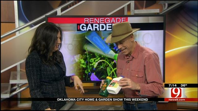 OKC Home and Garden Show: Renegade Gardener