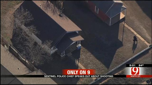 Sentinel Police Chief Speaks Out About Shooting