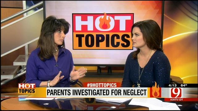 HOT TOPICS: Parents Being Investigated For Child Neglect