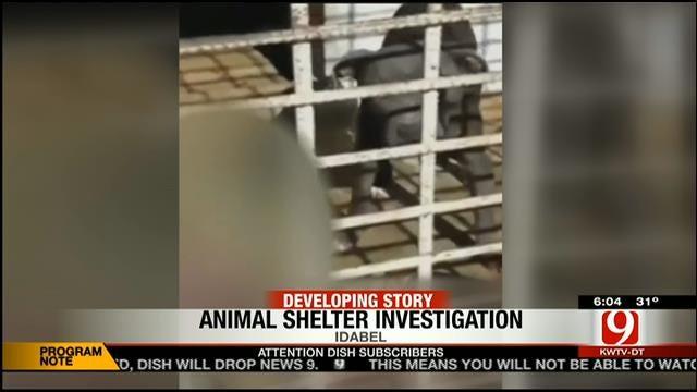 Disturbing Video Taken At Idabel Animal Shelter Sparks Outrage