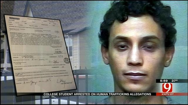 College Student Arrested On Human Trafficking Allegations