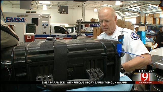 EMSA Paramedic Wins Top Gun Award