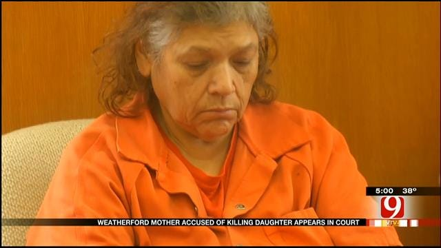 Weatherford Woman Accused Of Killing Daughter Appears In Court