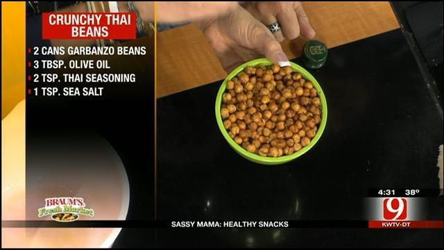 Sassy Mama: Crunchy Thai Beans