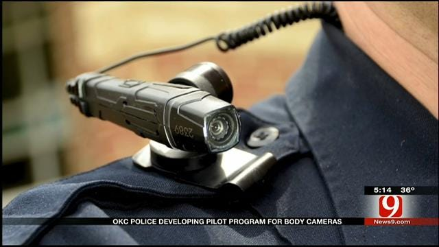OKC Police Officers To Be Outfitted With Body Cameras