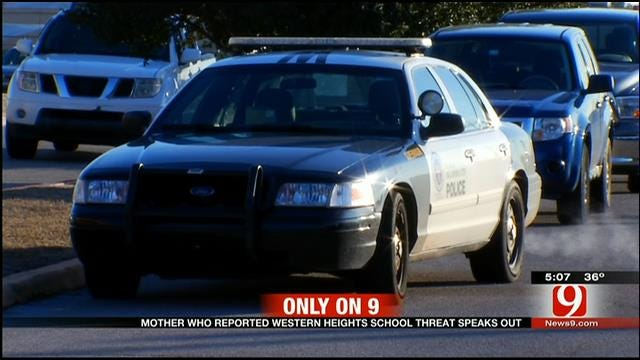 Mother Who Reported Western Heights School Threat Speaks Out