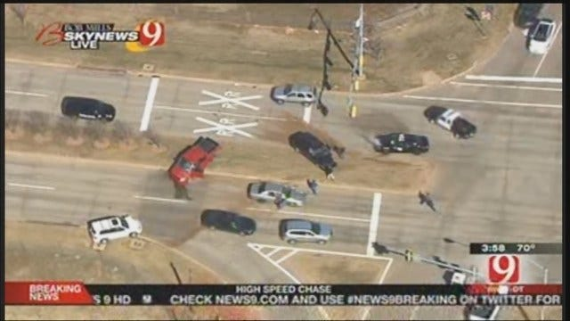 Exclusive: High Speed Chase Ends In Crash Downtown