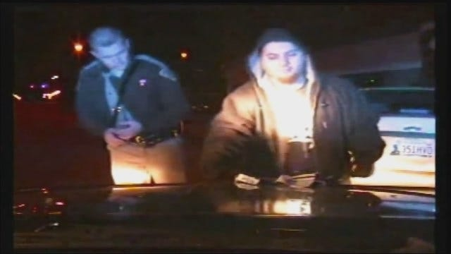 WEB EXTRA: Dash Cam Video Of Logan County Trooper-Involved Shooting