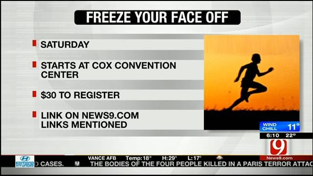'Freeze Your Face-Off' Race To Raise Awareness Of Mental Illnesses