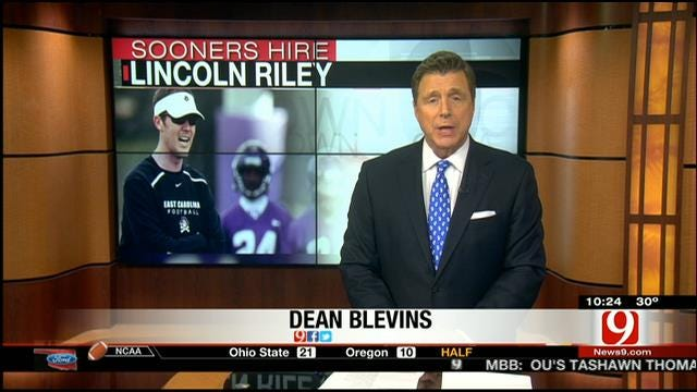 OU Hires Lincoln Riley