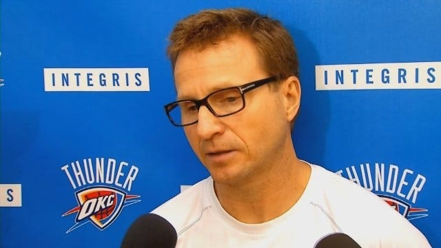 """Scott Brooks: Thunder """"Wants To Clean Some Things Up"""""""