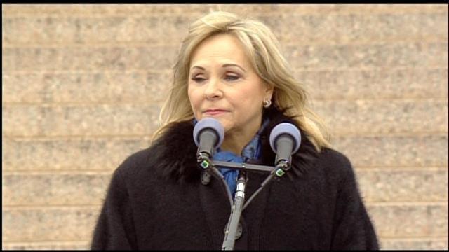 WEB EXTRA: Gov. Mary Fallin's Inauguration Speech