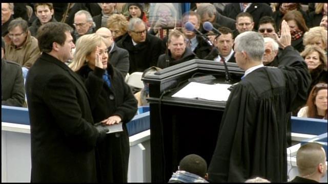 WEB EXTRA: Gov. Mary Fallin Sworn Into Office