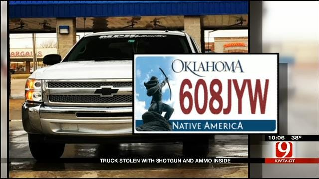 Truck Loaded With Hunting Gear Stolen From NW OKC Driveway