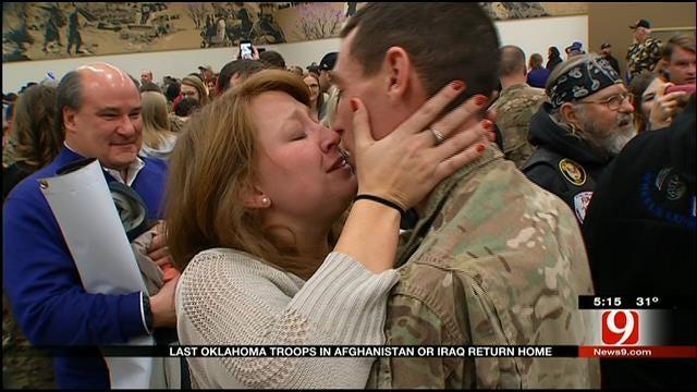Last Oklahoma Troops In Afghanistan Return Home