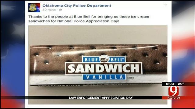 Oklahomans Show Gratitude On Law Enforcement Appreciation Day
