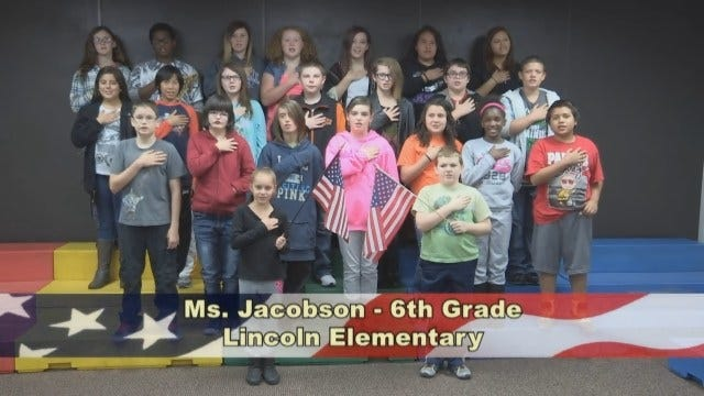 Ms. Jacobson's 6th Grade Class At Lincoln Elementary School