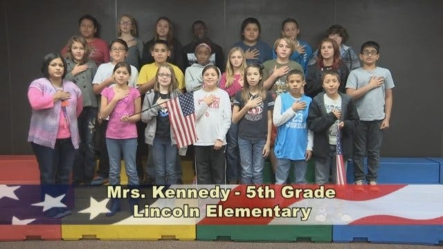 Mrs. Kennedy's 5th Grade Class At Lincoln Elementary School