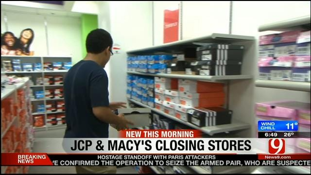 Some Retails Stores To Close In OKC
