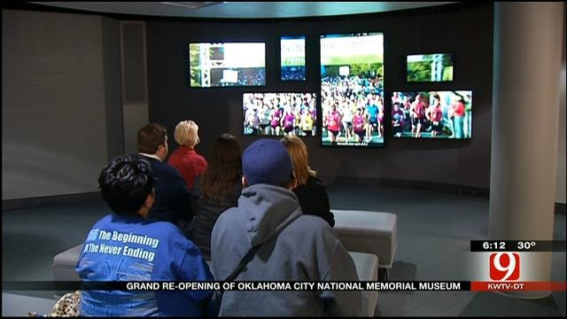 Grand Re-Opening Of OKC National Memorial Museum