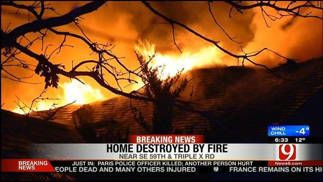 Smoke Alarms Alert OKC Family To House Fire