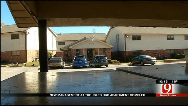New Management At Troubled NW OKC Apartment Complex