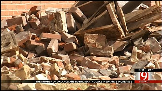 Increase In Oklahomans Buying Earthquake Insurance