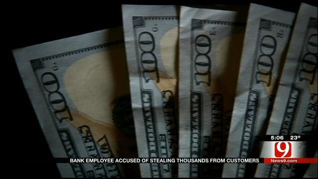 Bank Employee Accused Of Stealing Thousands From Customers