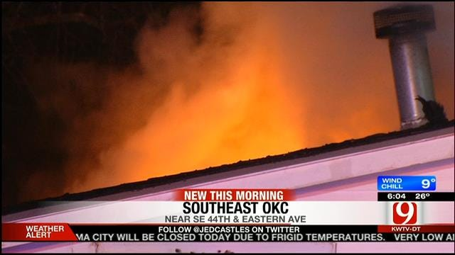 OKC Firefighters Put Out Two House Fires Early Wednesday Morning