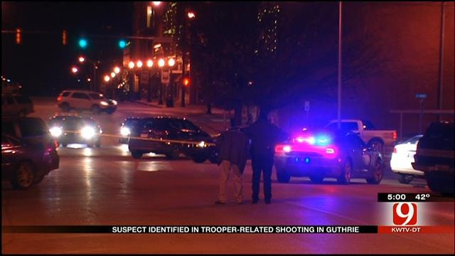 Suspect Identified In OHP Trooper-Involved Shooting In Guthrie