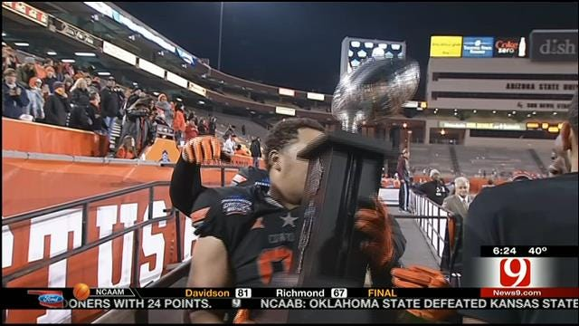 Oklahoma State Defense Comes Up Big
