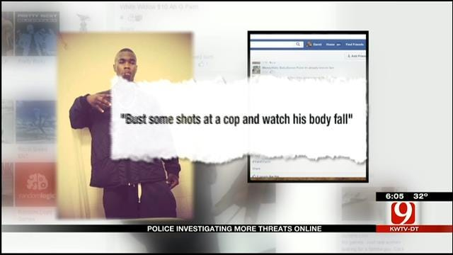 Police Investigation More Online Threats