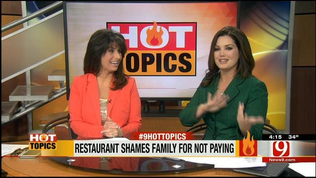 HOT TOPICS: Sheriff Asked To Supervise Spanking
