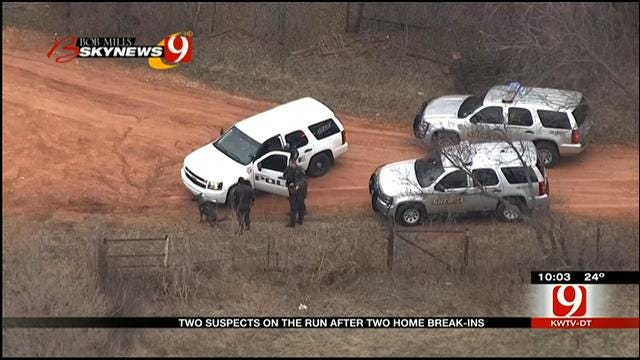 Two Suspects On The Run Following Piedmont Pursuit