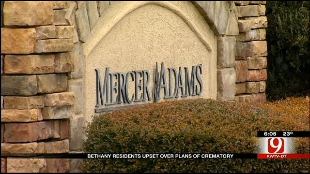 Bethany Residents Concerned About New Crematorium