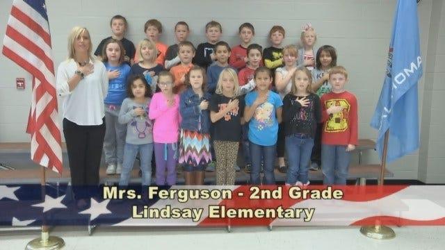 Mrs. Ferguson's 2nd Grade class at Lindsay Elementary School