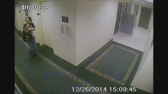 WEB EXTRA: Woman Wanted For Questioning In Connection To Hotel Room Break-In